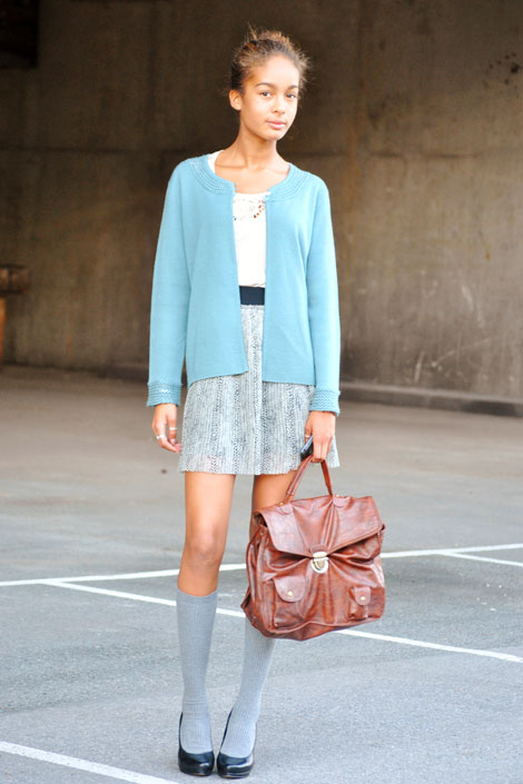 A-knitted-cardigan