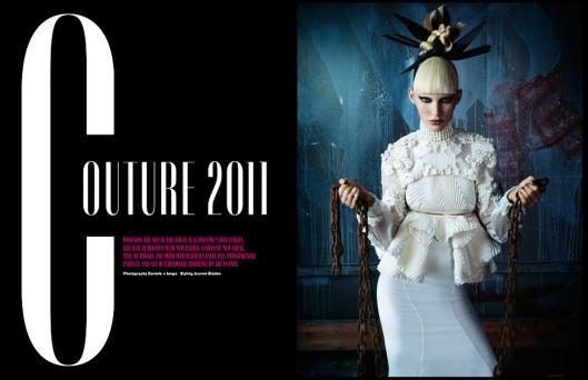 Couture 2011 by Daniele & Iango (V #74 Winter 2011) 1
